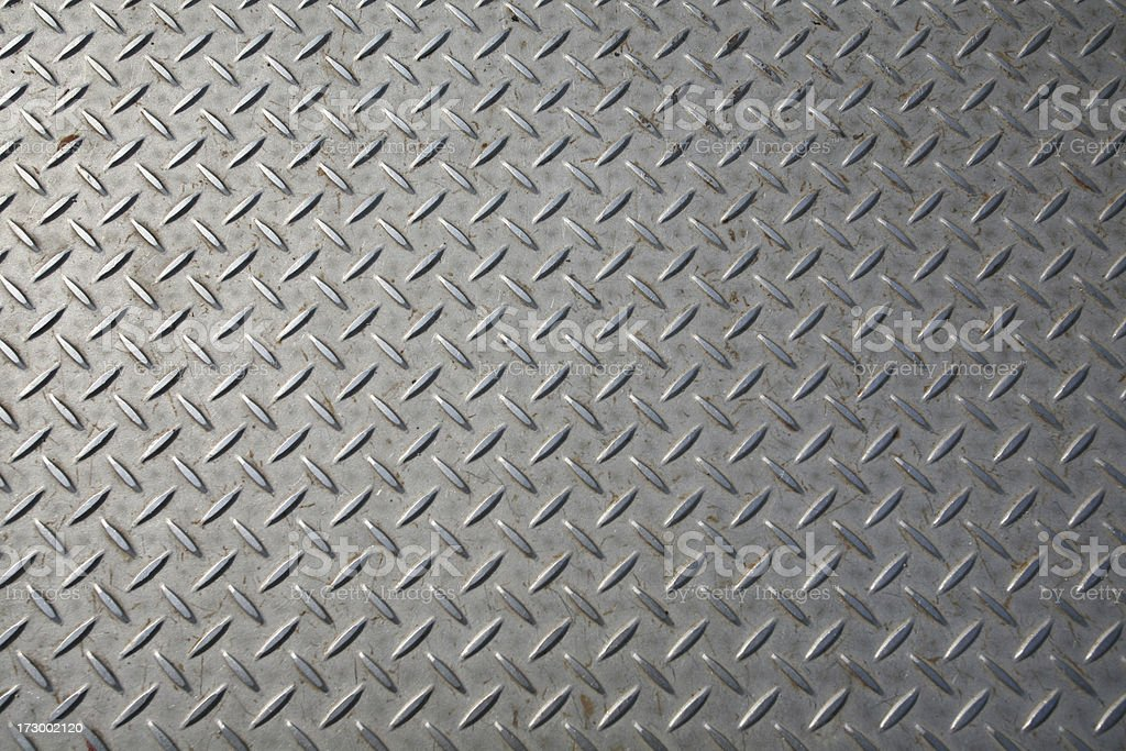 Diamond Plate Texture royalty-free stock photo