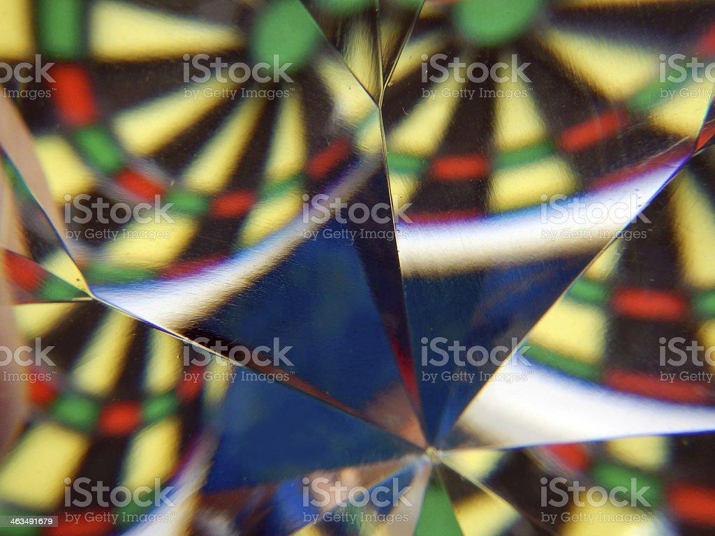 Diamond Prism Abstract stock photo