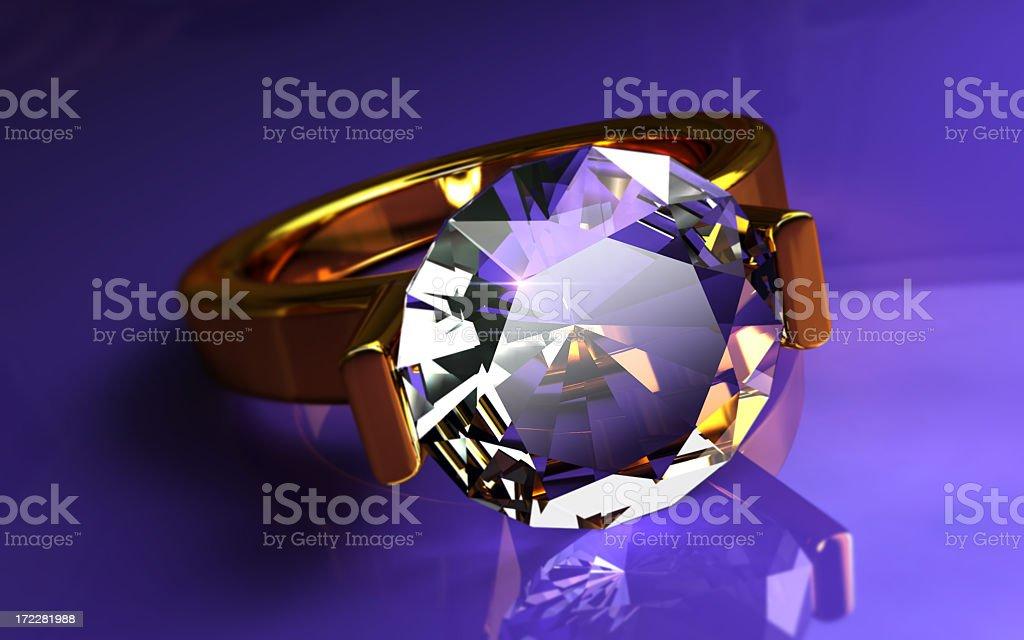 Diamond Ring I royalty-free stock photo