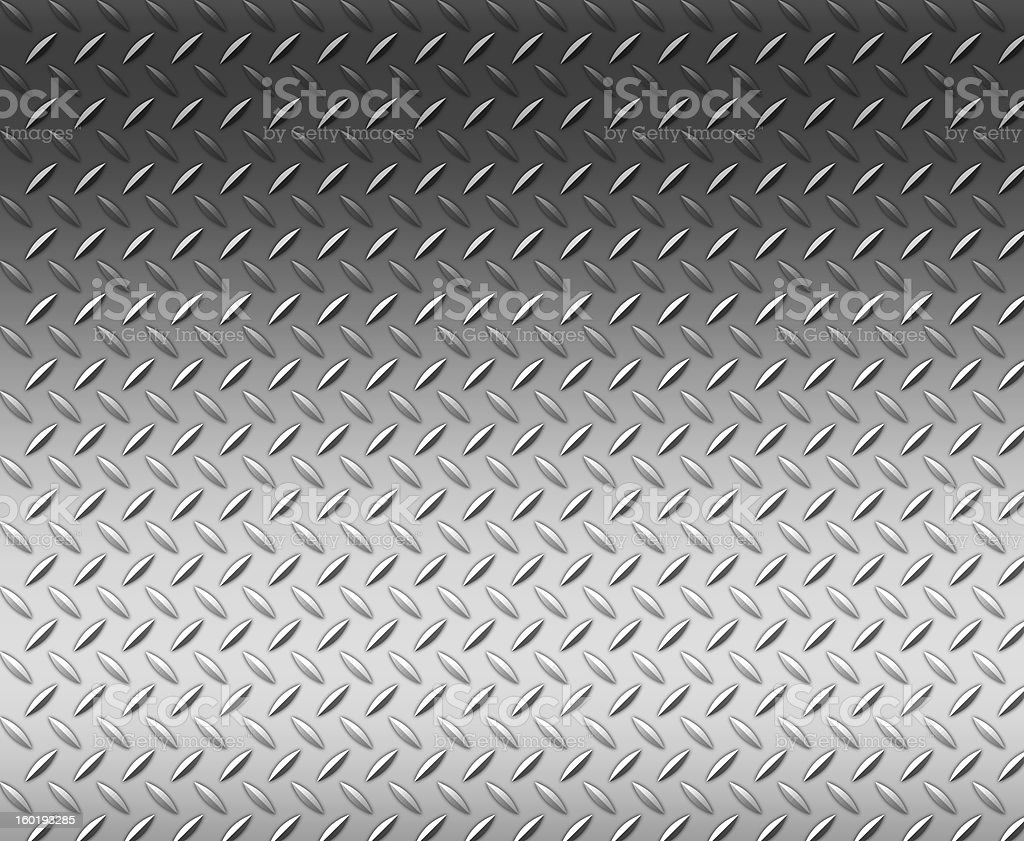 Diamond shape steel plate texture background with copy space stock photo