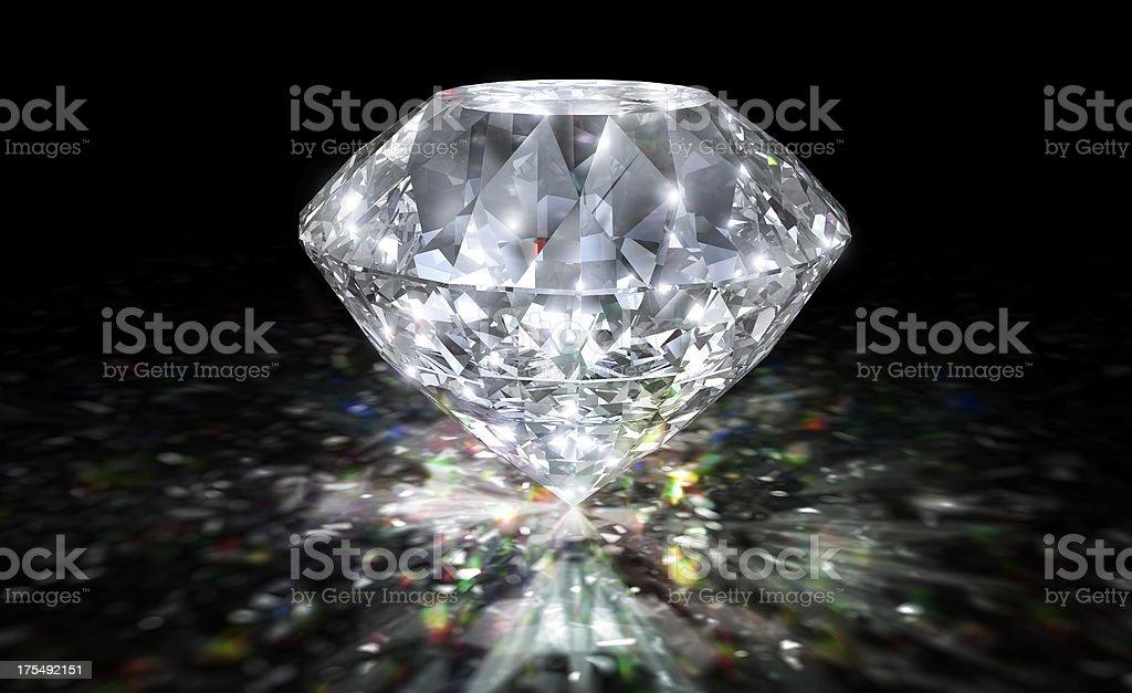 Diamond Spectrum stock photo