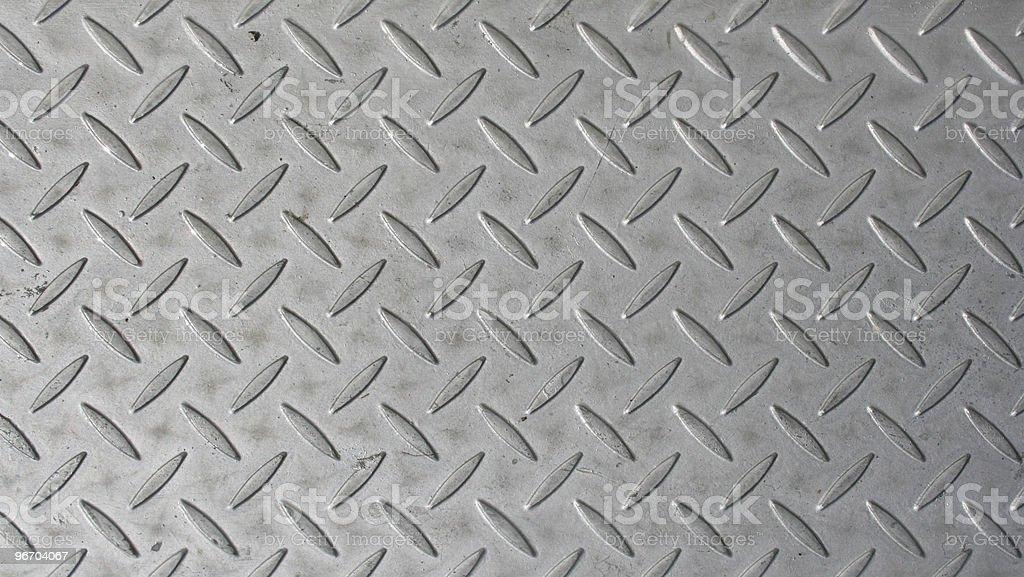Diamond Steel Plate royalty-free stock photo