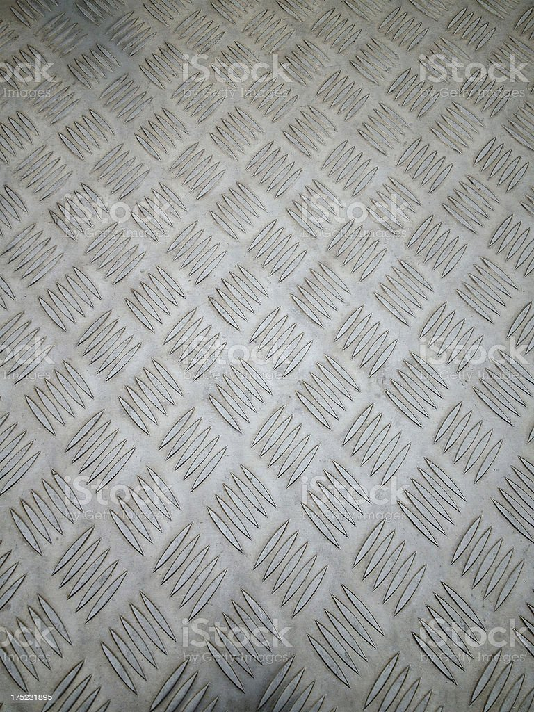Diamond Steel Tread Texture royalty-free stock photo