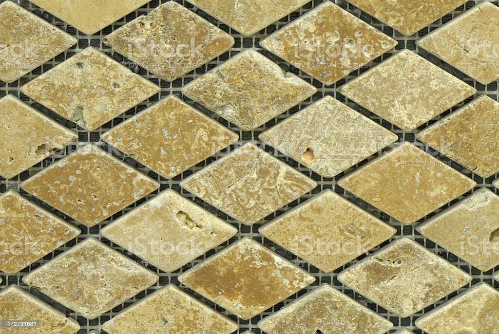 diamond textured tiles royalty-free stock photo
