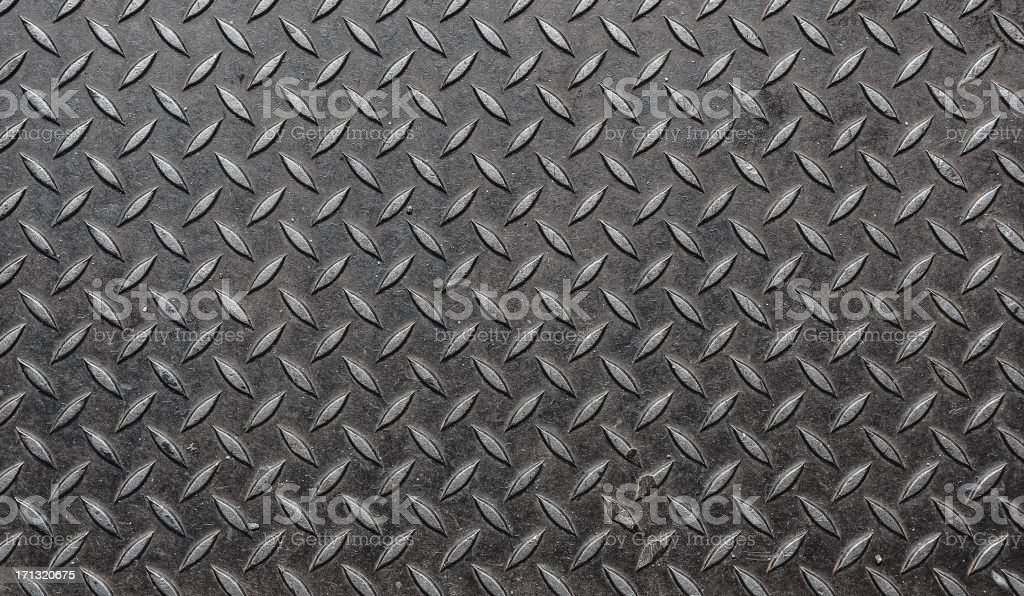 Diamondplate Grunge stock photo