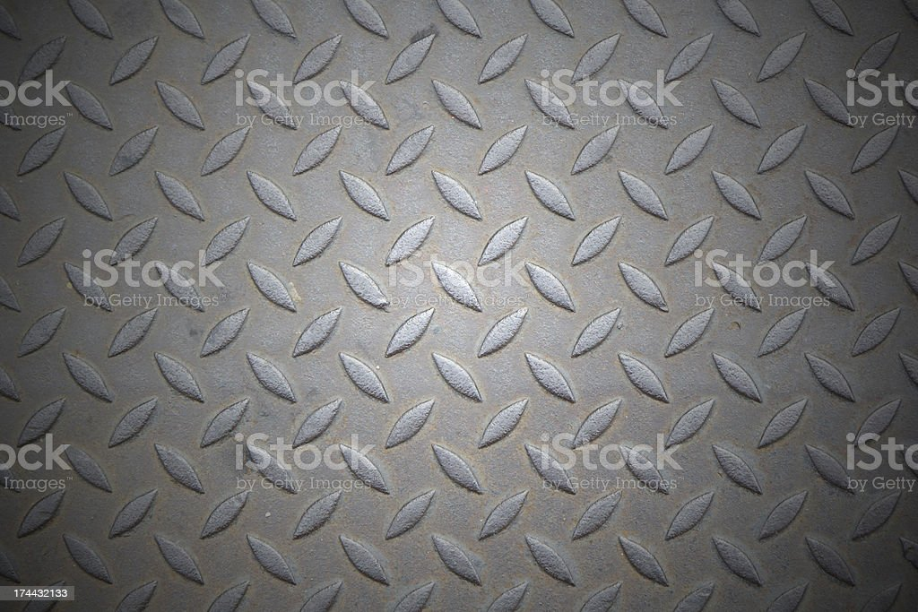 Diamondplate royalty-free stock photo