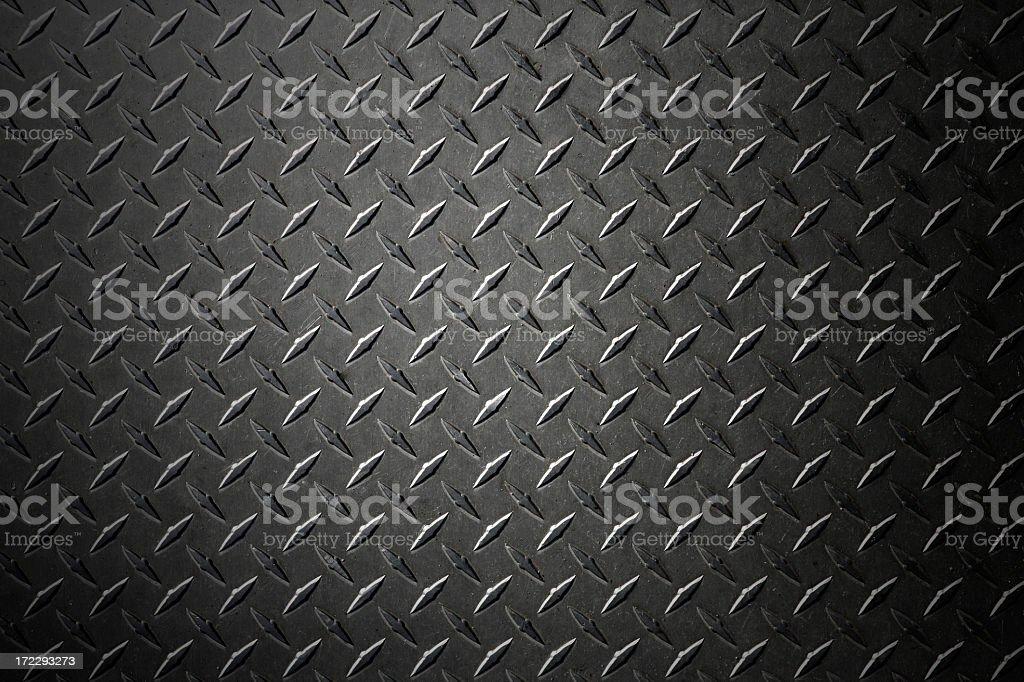 Diamondplate XXL stock photo