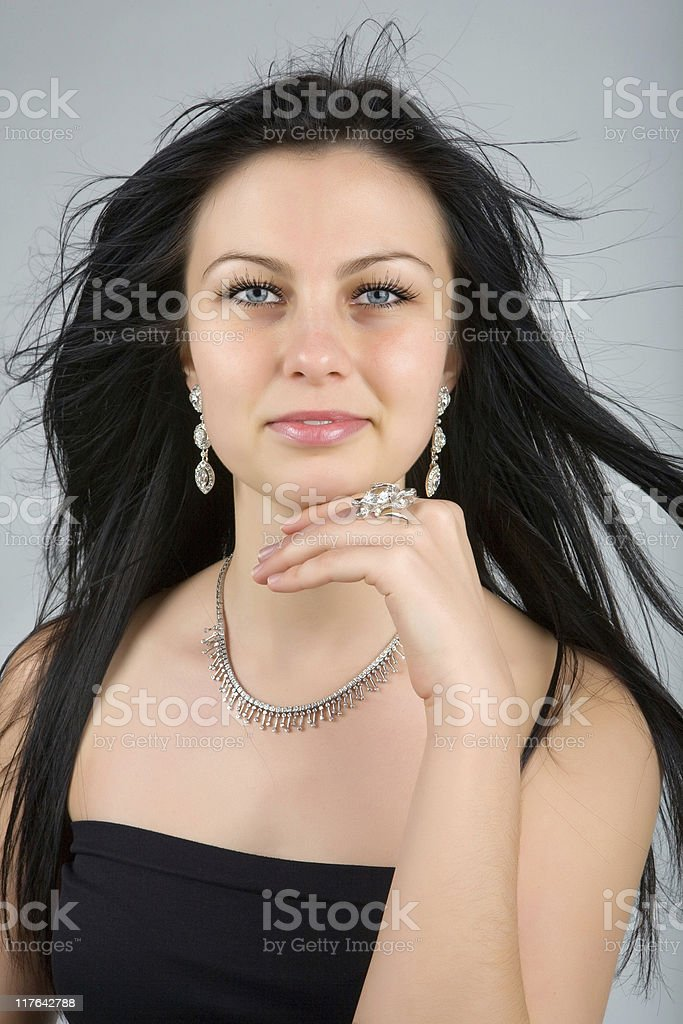 Diamonds are forever royalty-free stock photo