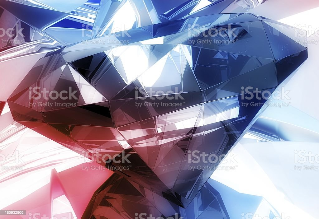 Diamonds Background royalty-free stock photo