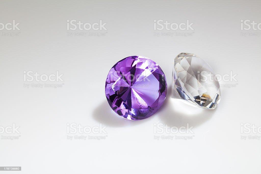 Diamonds close-up royalty-free stock photo