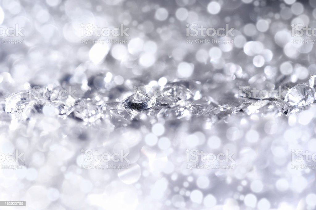 Diamonds light stock photo