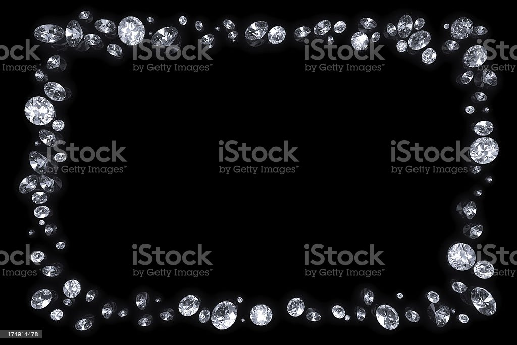 Diamond Border Pictures Images And Stock Photos Istock