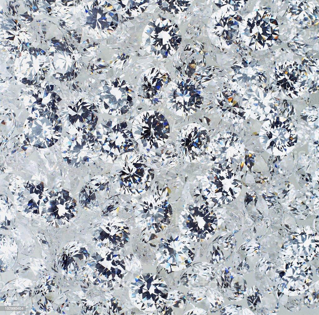 Diamonds texture royalty-free stock photo