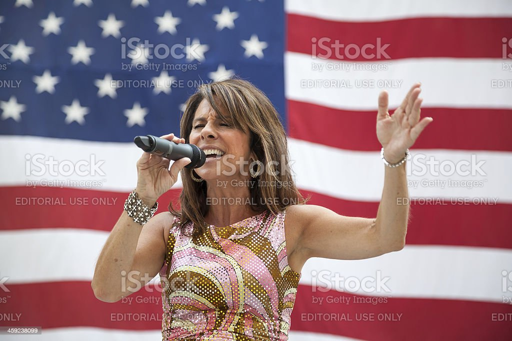 Diana Nagy Performs in Chicago royalty-free stock photo