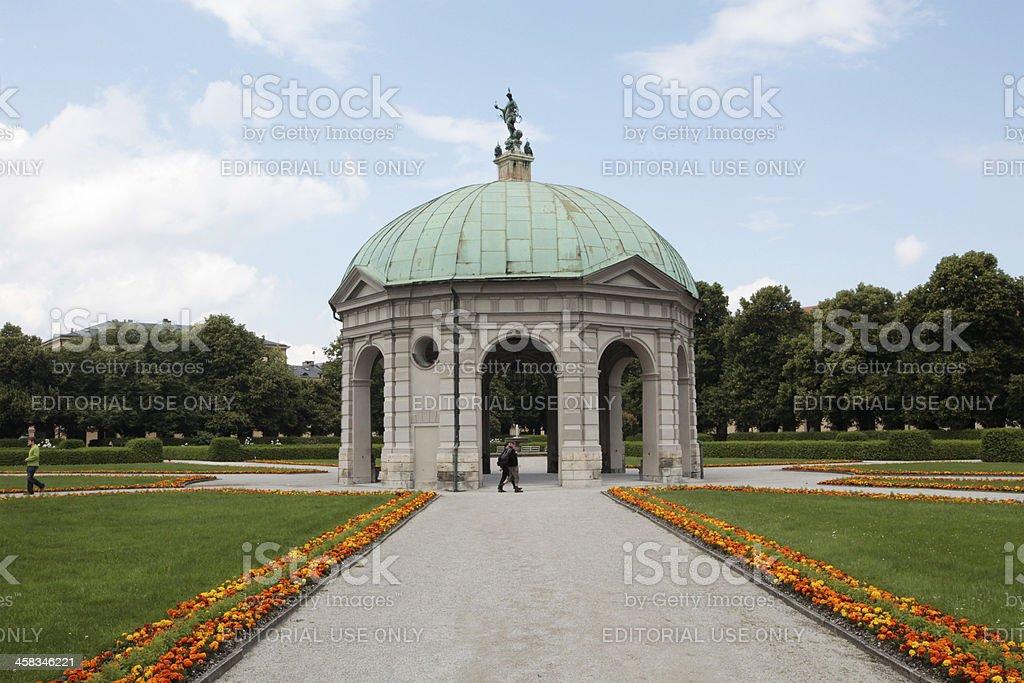 Diana Pavilion royalty-free stock photo