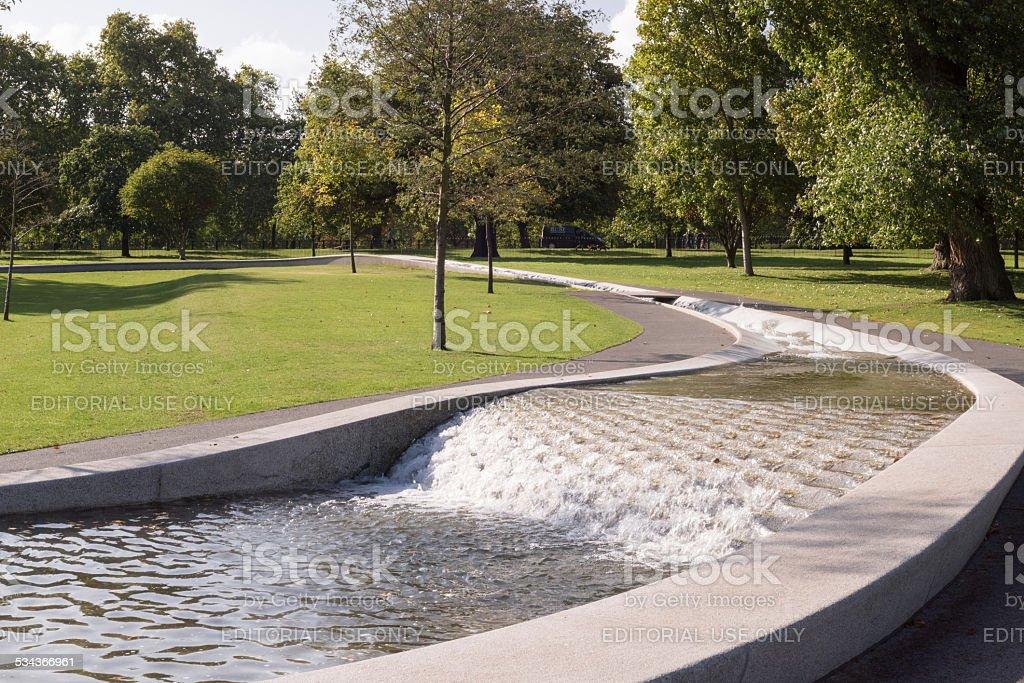 Diana, Princess of Wales Memorial Fountain stock photo