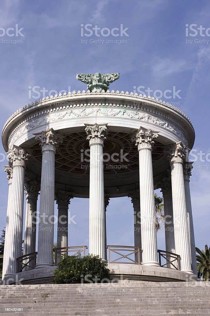 Diana temple, Nice, France royalty-free stock photo