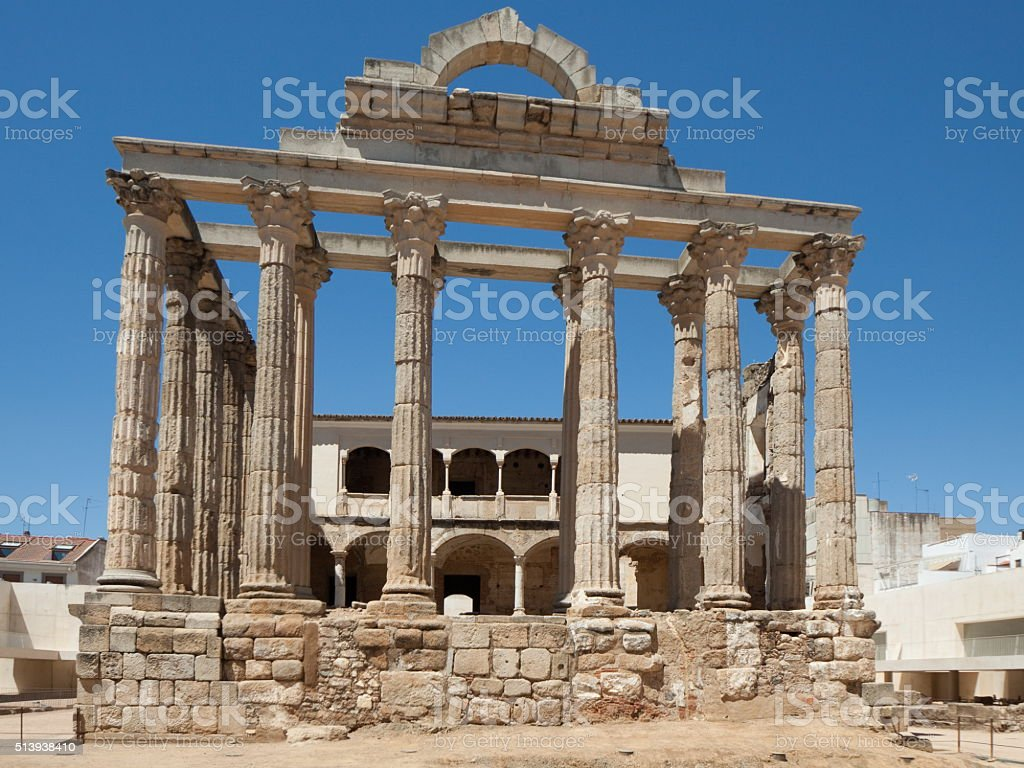 Diana Temple stock photo