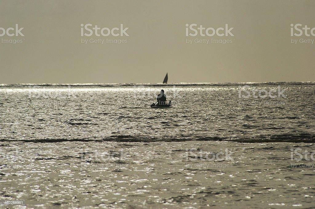 Diani Beach, Indian Ocean stock photo