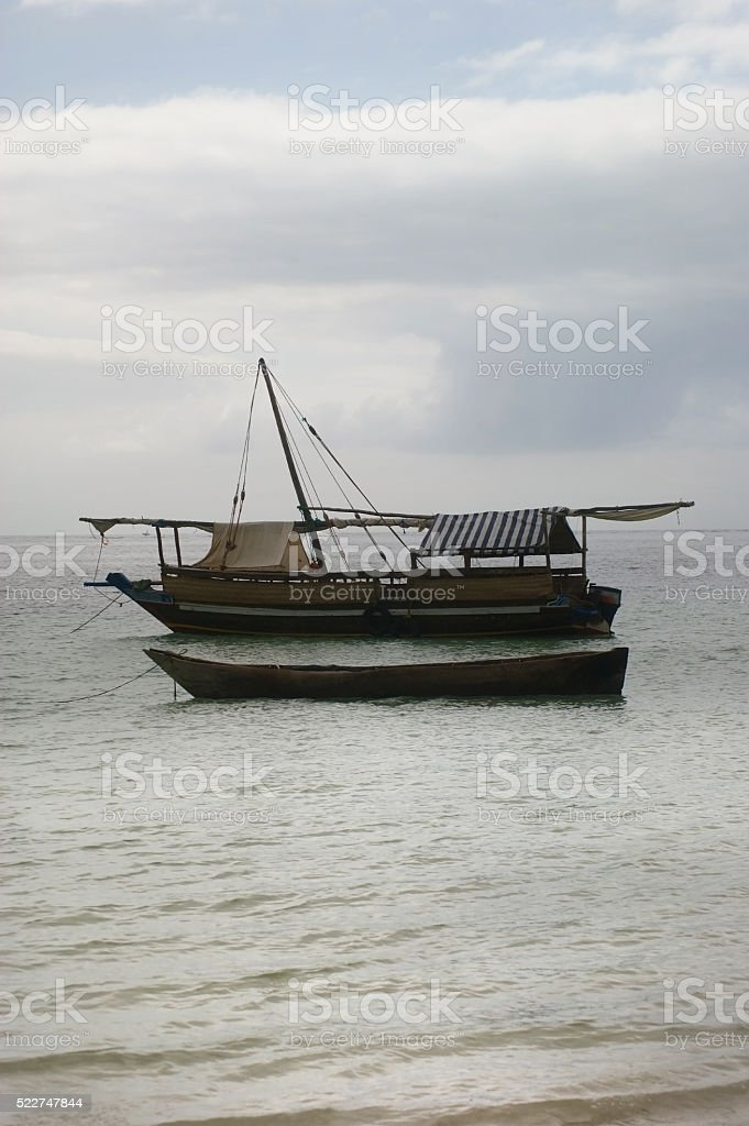 Diani Beach, Indian Ocean stock photo