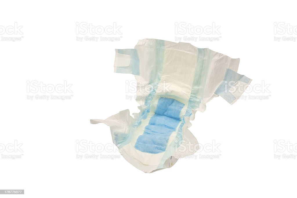 diaper stock photo