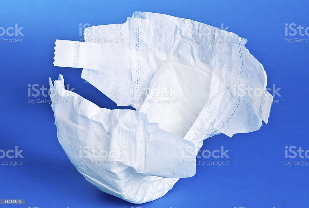 Diaper stock photo