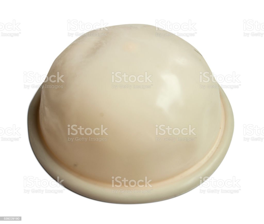 Diaphragm Birth Control stock photo