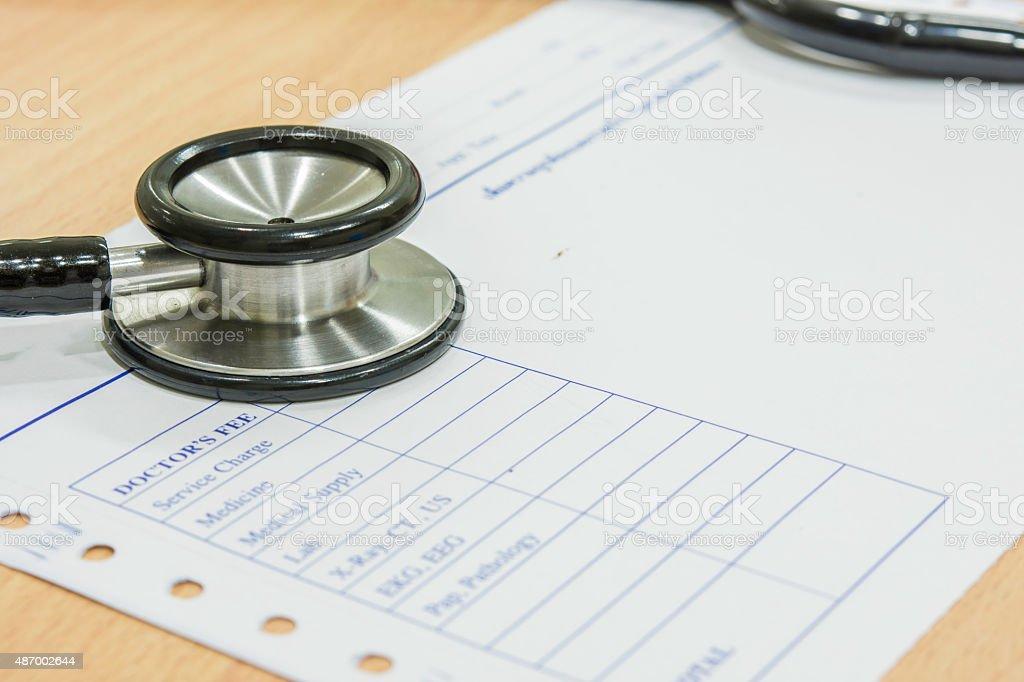 Membran Stethoskop Lizenzfreies stock-foto