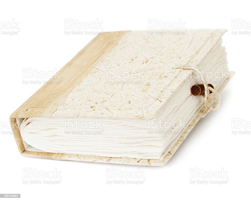 diary or photo album book isolated on white background royalty-free stock photo