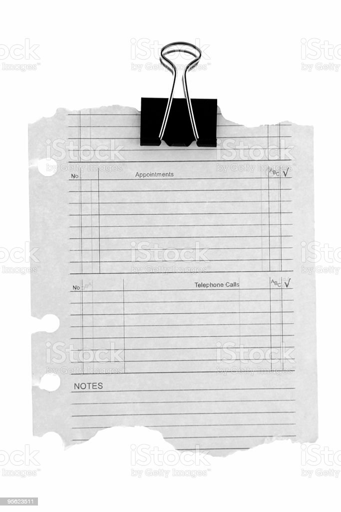 diary page royalty-free stock photo