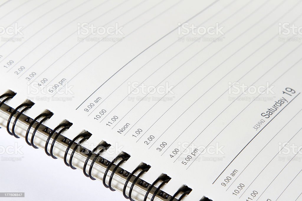 Diary royalty-free stock photo
