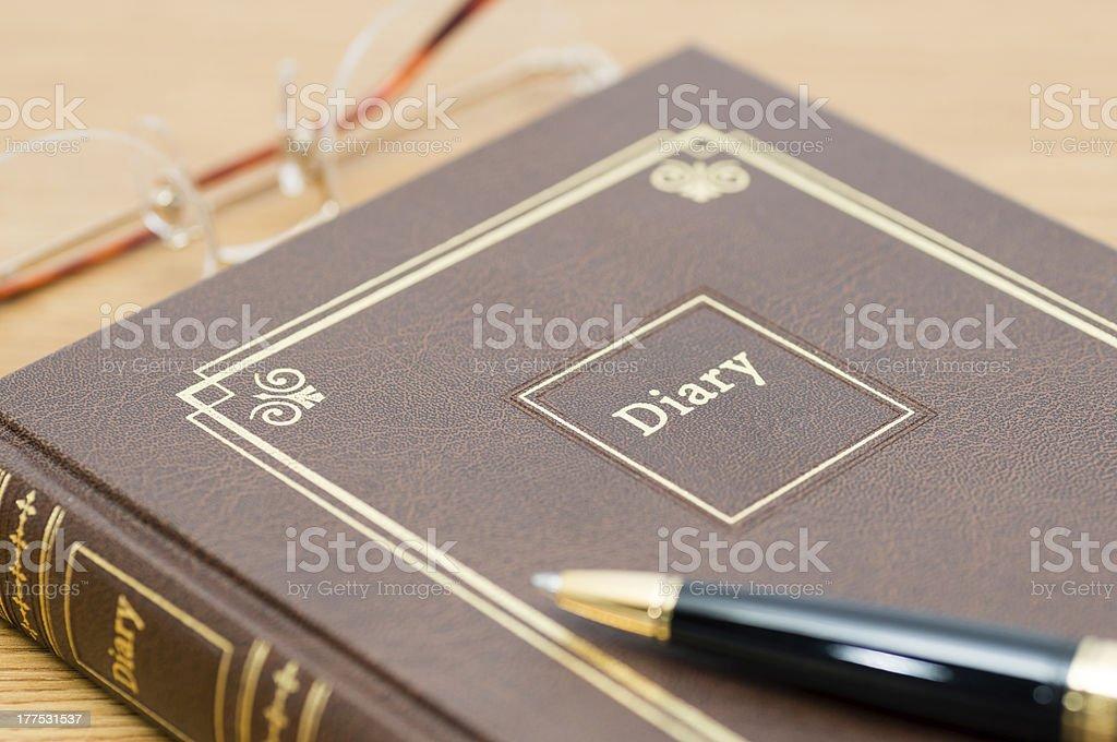 Diary (XXXLarge) stock photo
