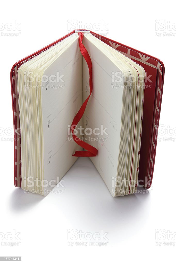 Diary royalty-free stock photo