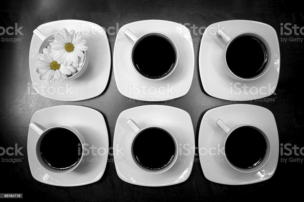 diasy coffee royalty-free stock photo