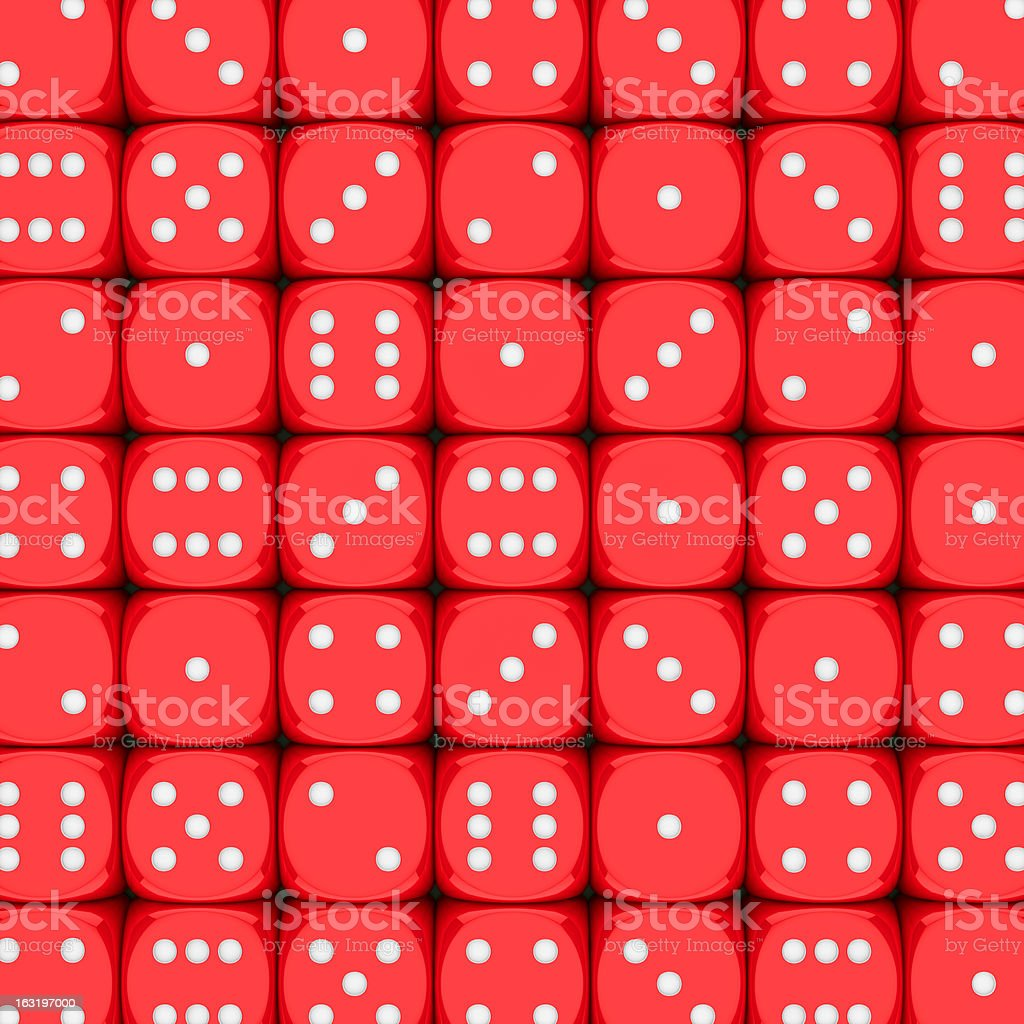 Dice background royalty-free stock photo