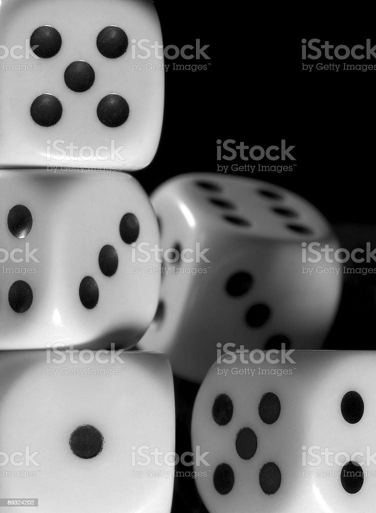 dice background stock photo