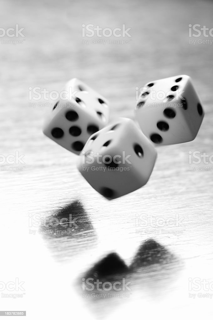 Dice Gambling royalty-free stock photo