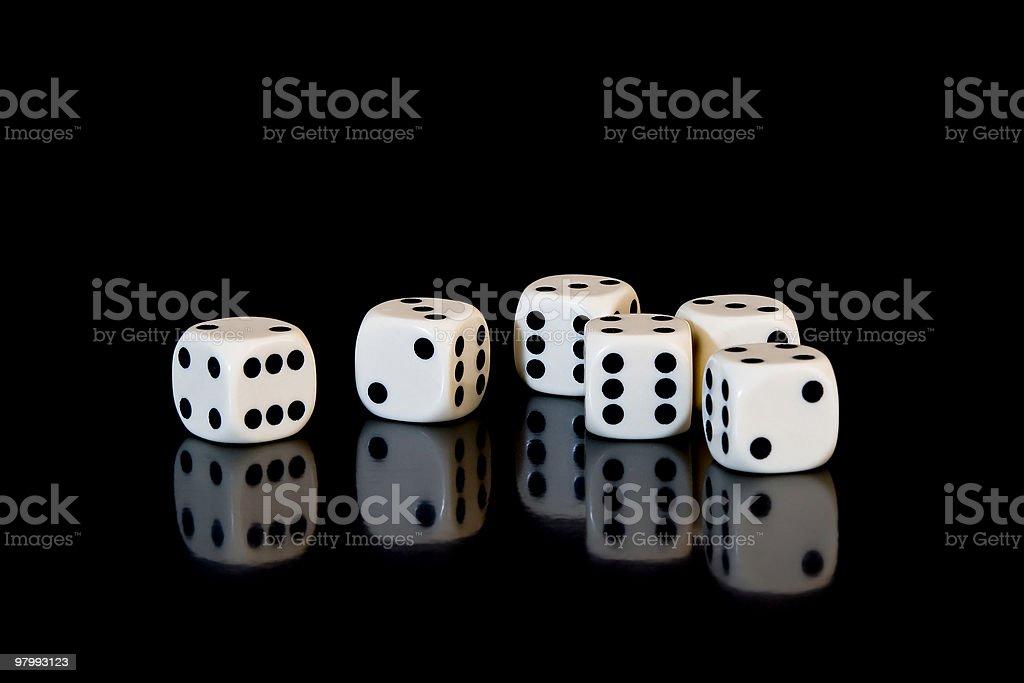 dice stock photo