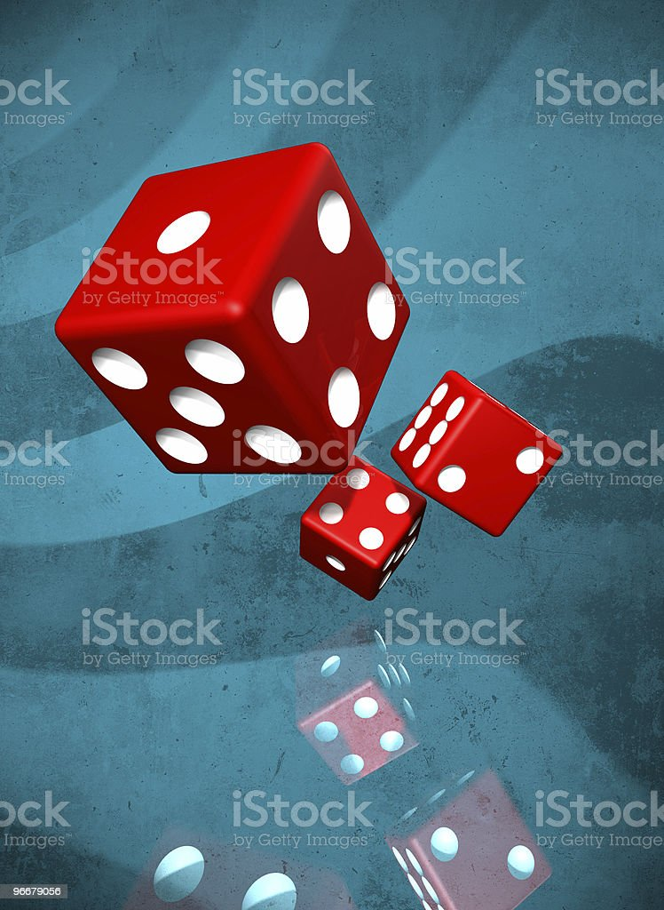 Dices background royalty-free stock photo