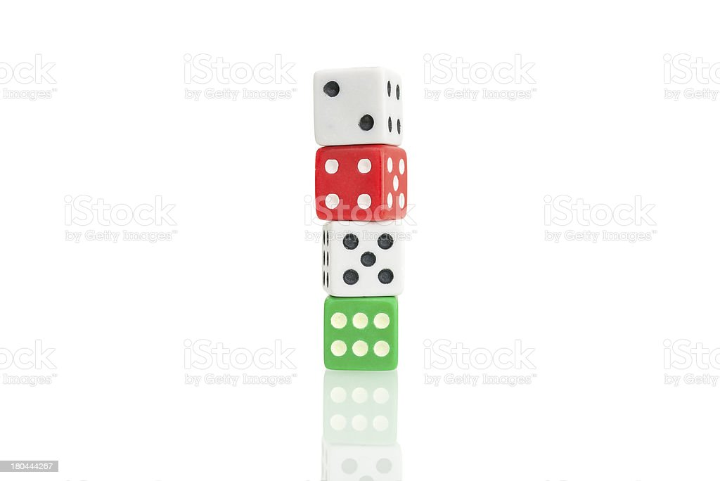 Dices royalty-free stock photo