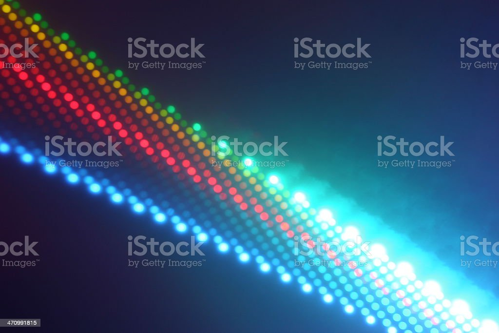 dichroic filters in the sun 5 royalty-free stock photo