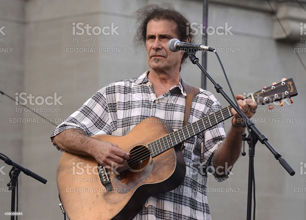 Dick Siegel at Summer Festival royalty-free stock photo
