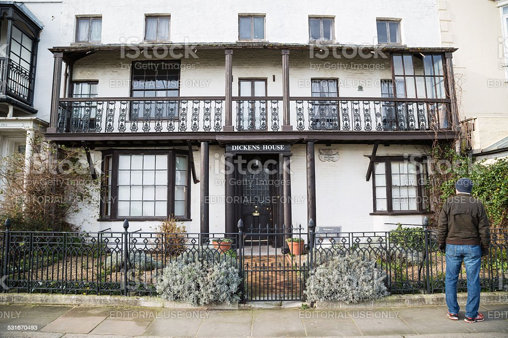 Dickens House Museum, Broadstairs stock photo