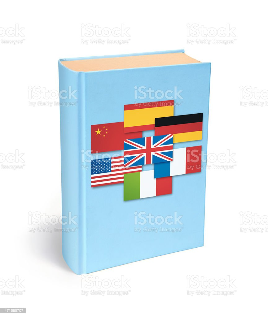 Dictionary book royalty-free stock photo