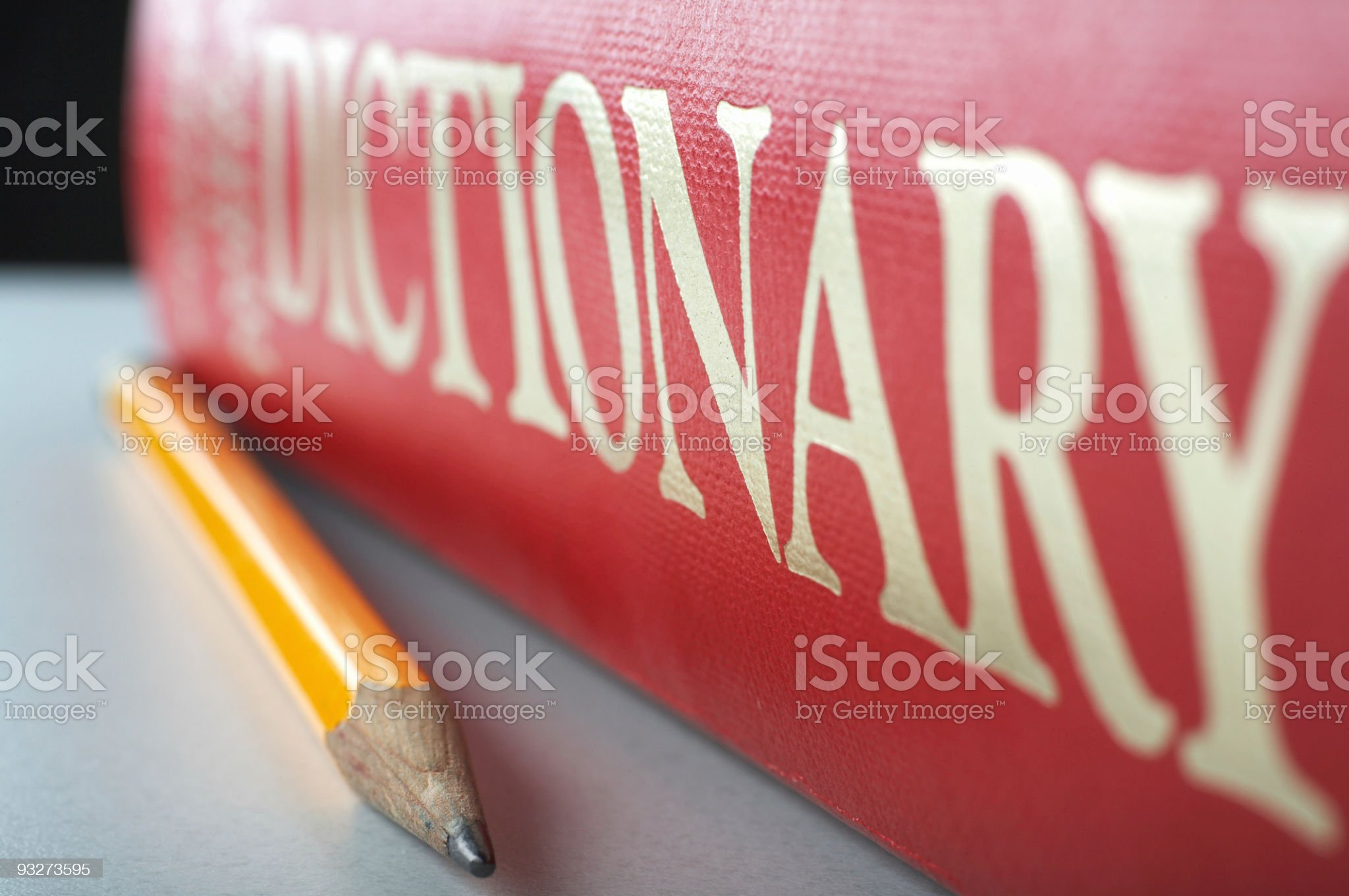 Dictionary royalty-free stock photo