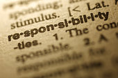 Dictionary Series - Responsibility