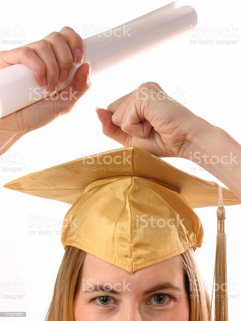 I Did It! 2 royalty-free stock photo