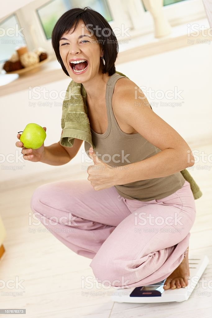 I did it royalty-free stock photo