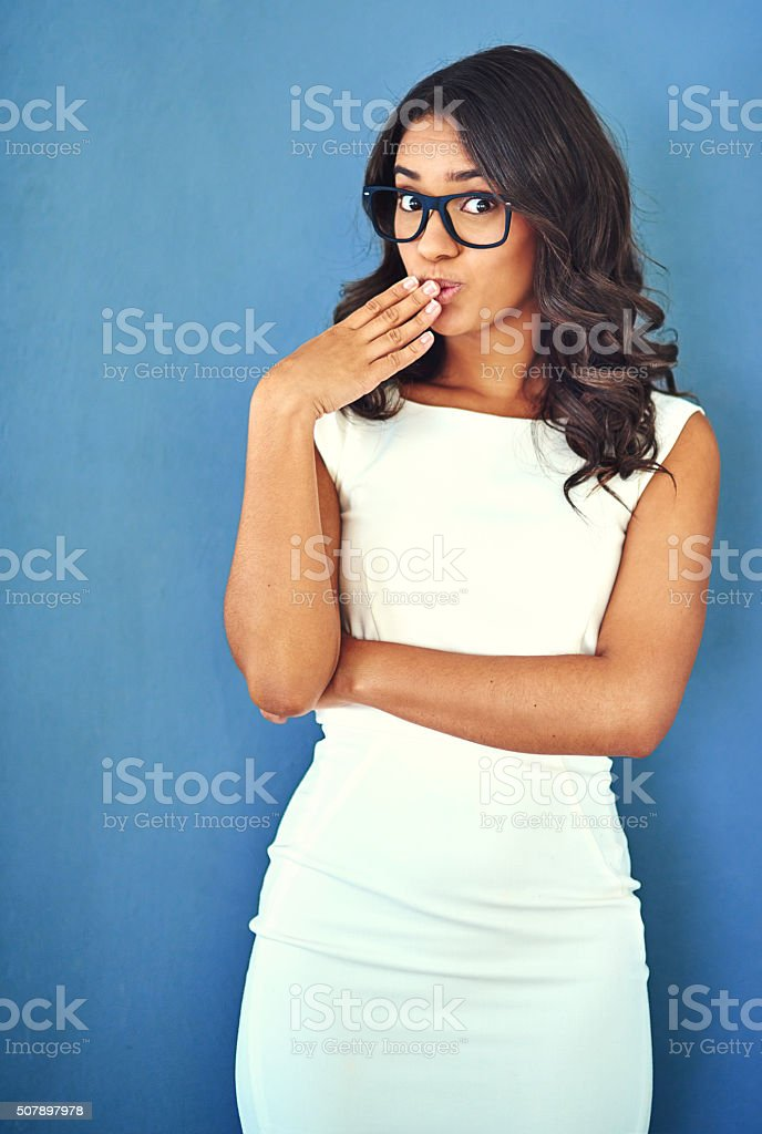Did you hear the rumors? stock photo