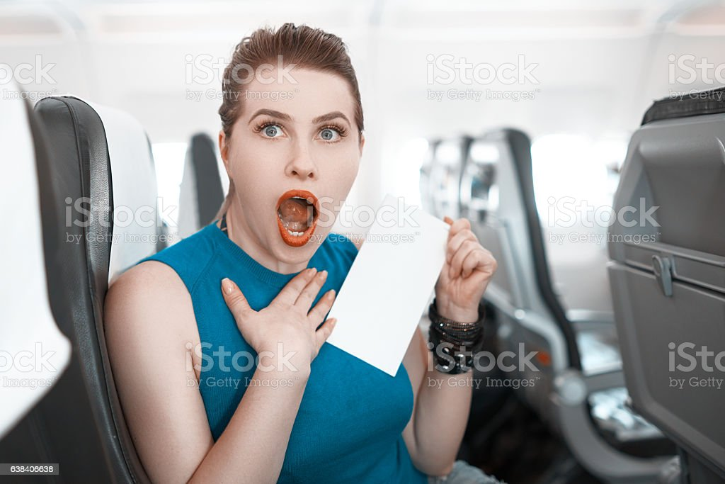 did you see this? stock photo